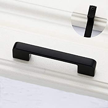 Image of Home Improvements AbeTammy Black 1221 Kitchen Cabinet Handle Pulls