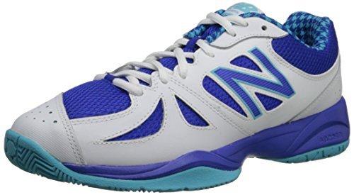おばさんイデオロギー魅力的New Balance Women's WC696 Tennis ShoeBlue/White10 B US [並行輸入品]