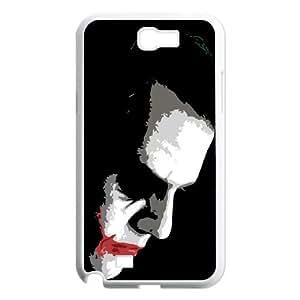 Batman Joker Samsung Galaxy N2 700 Cell Phone Case White JR5217785