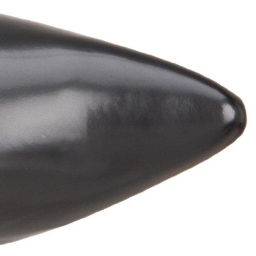 Pleaser Mens Brogue-02 Pull-polyuréthane Au Démarrage Nappa Noir