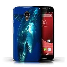 STUFF4 Phone Case / Cover for Motorola Moto G (2014) / Great White Shark Design / Marine Wildlife Collection