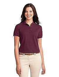 Port Authority Women's Silk Touch Sport Shirt<br> Sm-3XL (more colors)