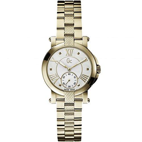 Guess Collection Gc Demoiselle X50002L1S 32mm Gold Steel Bracelet & Case Anti-Reflective Sapphire Women's Watch