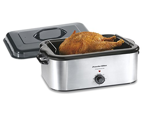 Proctor Silex Stainless Steel Roaster Oven, 22-Quart