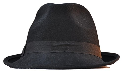 Emporio3 CAPPELLO ALPINO IN FELTRO RETRO ELEGANTE JONATHAN - CB670   Amazon.it  Abbigliamento aed427a3d64f
