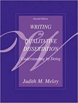 by dissertation doing edition qualitative second understanding writing Qualitative research: a guide to design and  a guide to design and implementation  the 1998 second edition featured qualitative research, with case.