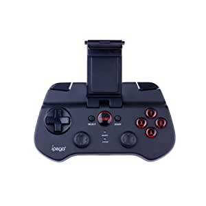 Ipega Bluetooth Controller Android Wireless Game Controller Gamepad Joystick for iPhone / iPod / iPad / Android Phone / Tablet PC, Black