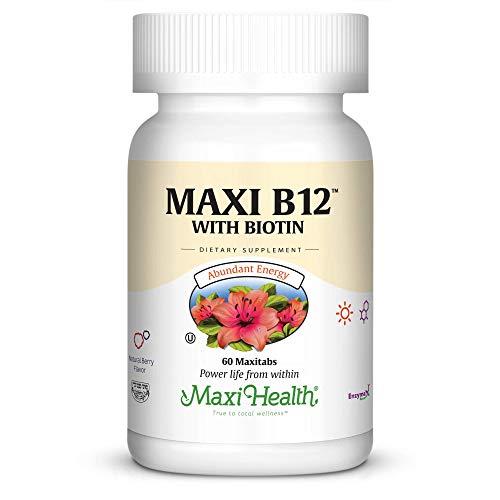Cheap Maxi B12 with Biotin, 60-Count