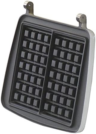 schwarz Waffelautomat Dezal 301.5 Pro