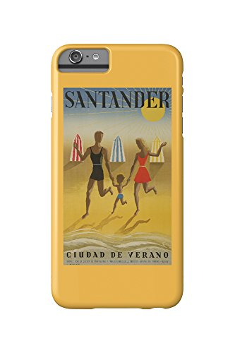spain-santander-artist-geruy-c-1942-vintage-advertisement-iphone-6-plus-cell-phone-case-slim-barely-