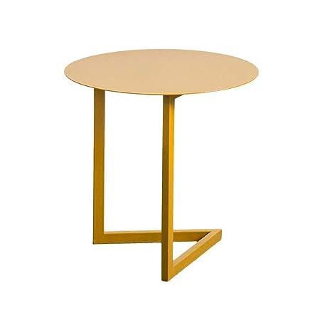 Tavolino Salotto Ferro Battuto.K Y Tavolino Salotto Tavolino Da Caffe Rotondo In Ferro Battuto