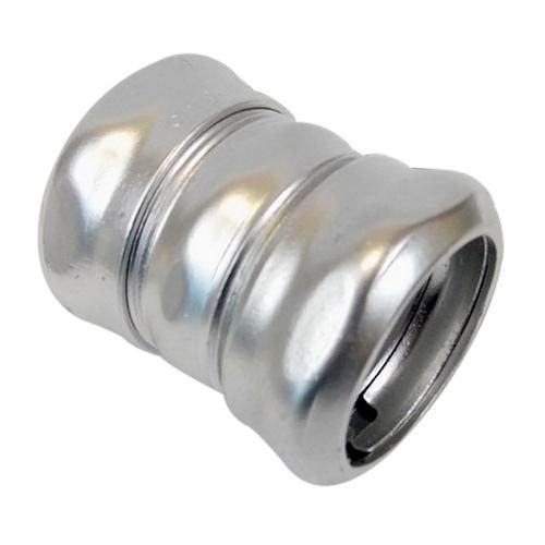 AFC Cable Systems CK-100 Zinc Plated Steel EMT Compression Coupling 1 Inch