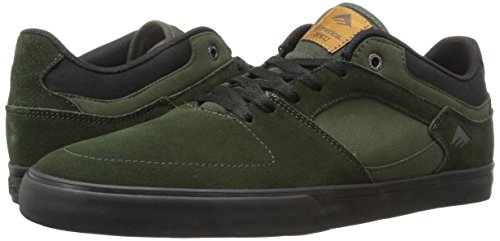 Uomo Black Emerica Scarpe Low Hsu Green Da Vulc Skateboard The gq4qBwHK0