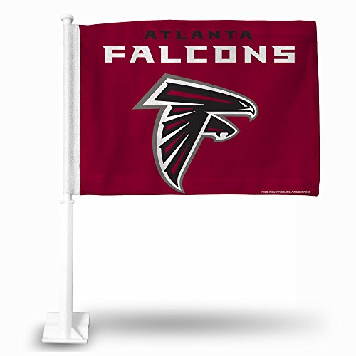 Rico Industries NFL Atlanta Falcons Car Flag