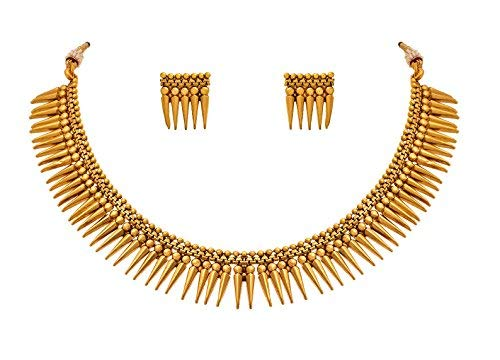 BFC- Fancy New Stylish Gold Plated Necklace Set for Woman and Girls product image