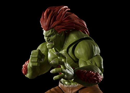 TAMASHII NATIONS Bandai S.H.Figuarts Blanka Action Figure