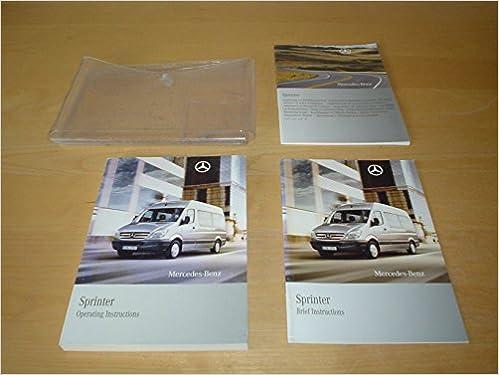 sprinter owners manual uk