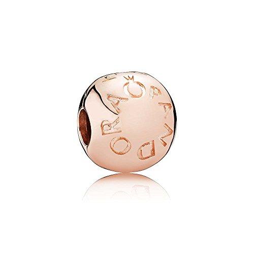 Loving Pandora Logo Charm Clip, Pandora Rose 781015