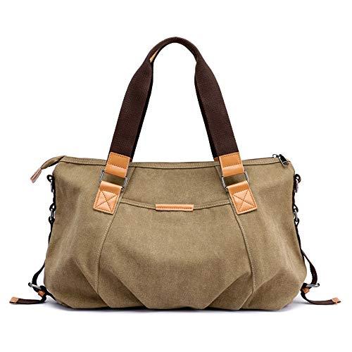couleur à bandoulière Sac Messenger bandoulière à Kaki main Gris Sac femme Sac pour Bag à Happyplus1 HvdOPP