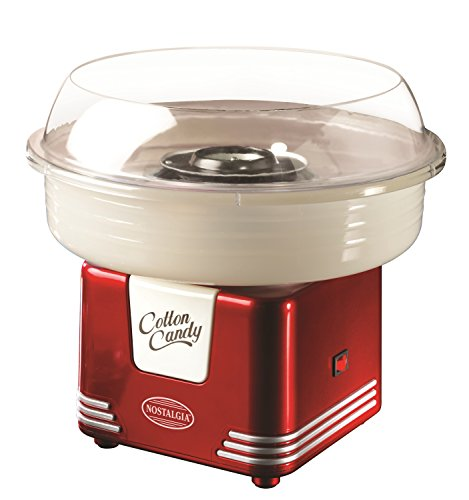 nostalgia-pcm405retrored-retro-series-hard-sugar-free-candy-cotton-candy-maker