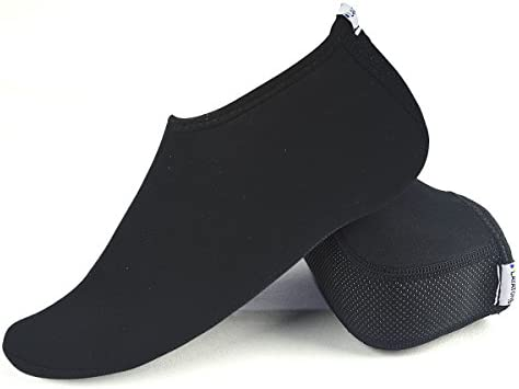 LayaTone Calcetines de Agua para Mujeres Beach Socks Men Women con Calcetines Antideslizantes de Neopreno de 2.5 mm Nadar Surf Snorkeling Diving Kayaking ...