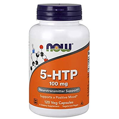 NOW® 5-HTP, 100 mg, 120 Veg Capsules