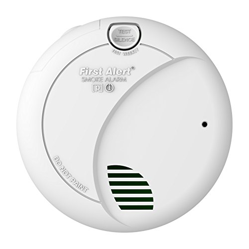 First Alert BRK Hardwire Smoke Alarm with Photoelectric Sens
