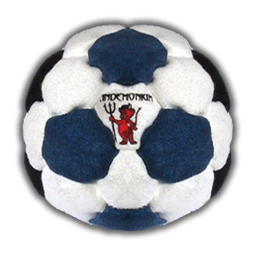 Pandemonium Footbag Prophecy Footbag 32 Panels Hacky Sack Pro Bag Sand & Iron Weighted At 2.1 Onces by Pandemonium Footbag
