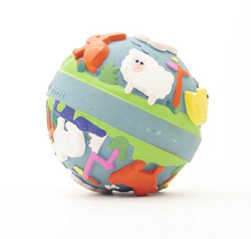 Naturkautschuk Babyspeilzeug Kleinkindspielzeug Beissring Badewannespielzeug der Ball