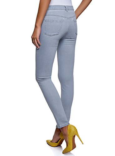 Oodji 7000w Jeans Blu Basic Slim Donna Fit Ultra 66rEqRWS