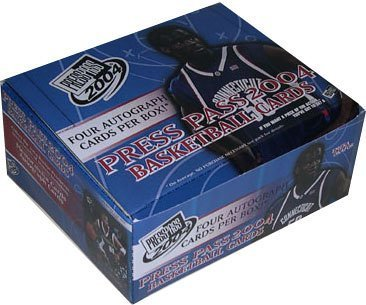 2004/05 Press Pass Basketball HOBBY Box - 24P4C