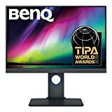 BenQ SW240 PhotoVue 24 inch Color Accuracy IPS Monitor for Photography (Renewed)