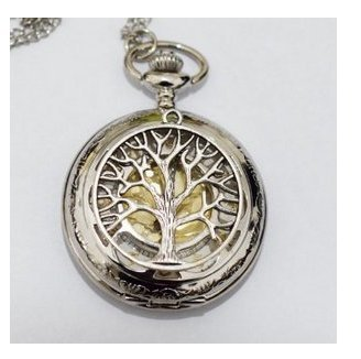Charm watch necklace pendant tree of life charm mens pocket watch charm watch necklace pendant tree of life charm mens pocket watch pocket watch necklace tree of mozeypictures Images