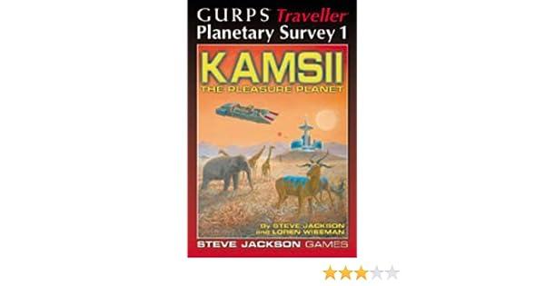 Kamsii GURPS Traveller Planetary Survey 1 Great Shape