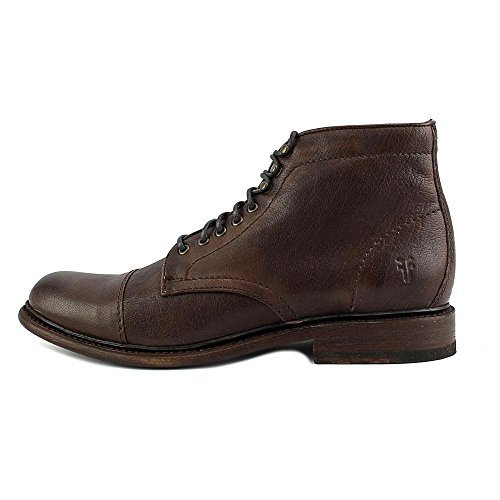 Frye Mens Jack Laceup Oxford Marrone Scuro