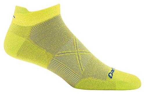 Darn Tough Coolmax Vertex No Show Tab Ultralight Cushion Sock - Men's Sulphur Spring Medium