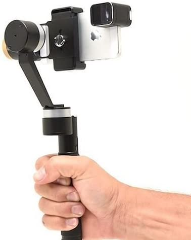 Glide Gear Leios 3-Axis Brushless Handheld Gimbal Gyro Stabilizer for GoPro and Smartphones