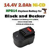 REEXBON 14.4V 2.0Ah HPB14 Battery for Black