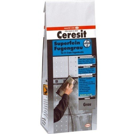 Ceresit Superfein, 0-5 mm, fugengrau, CBG12