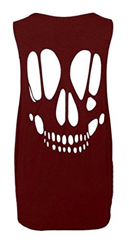 FK Styles - Camiseta sin mangas - para mujer Rojo