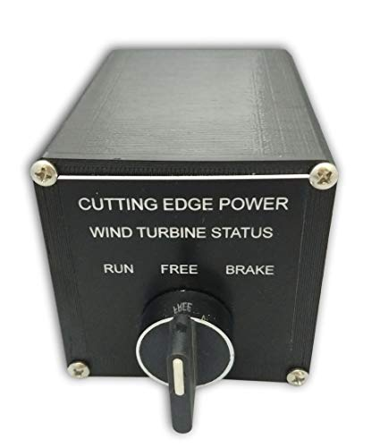 Cutting Edge Power 60 Amp 1000W Brake Switch for 3 Phase AC Wind Turbine Generator w Run Free and Brake Function