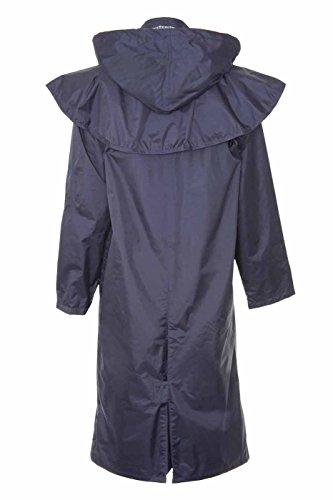 Long Ladies Waterproof Womens Full Length Riding Length Jacket Coat Navy Full 1wwqXUd