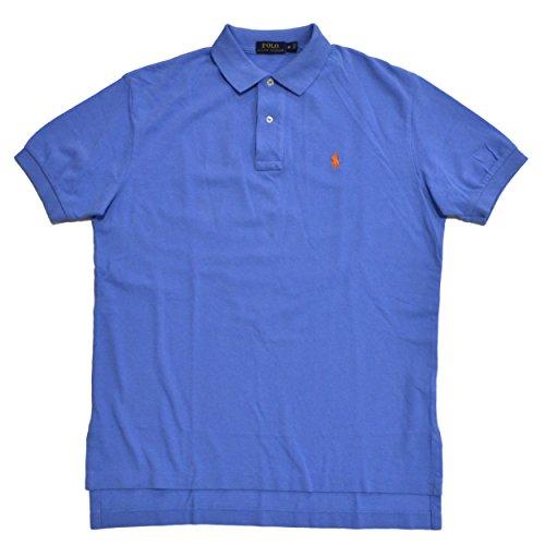 Polo Ralph Lauren Classic-Fit Mesh Polo (Fall Blue, Medium) (Gestreift Polo Ralph Lauren)
