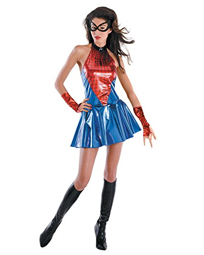 [Womens Spiderman Costume Movie Costumes Sexy Spiderman Sizes: Medium] (Spiderman Costumes Ideas)