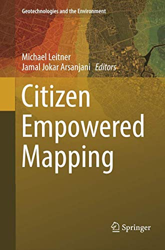 Citizen Empowered Mapping (Geotechnologies and the Environment)-cover