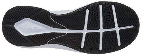 Zapato Adidas Performance Cloudfoam Ilation baloncesto, negro / blanco / blanco, 6,5 M con nosotros White/matte Silver/black