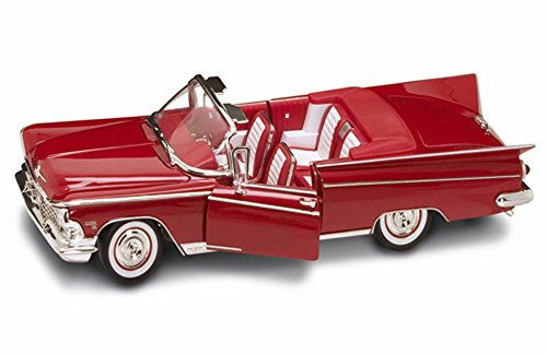 Road Signature 1959 Buick Electra 225 Convertible, Red 92598 - 1/18 Scale Diecast Model Toy Car