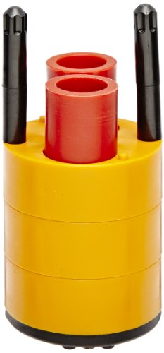 Thermo Scientific Centrifuge - Thermo Scientific 75008195 Centrifuge Rotor Bucket Adapter, Holds Two 12mL Urine Test Tubes, Orange/Red