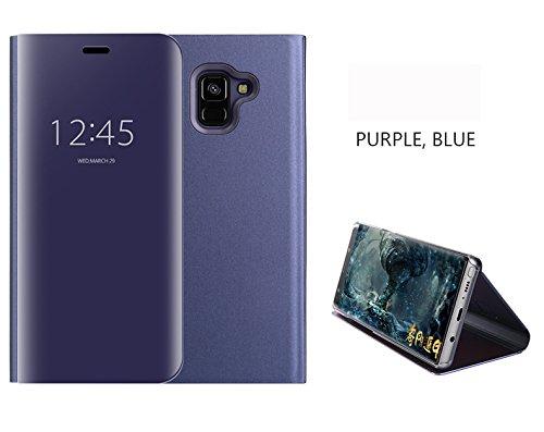 7 opinioni per COVO® Samsung Galaxy A8 2018 specchietto Cover,specchio riflettente brillante