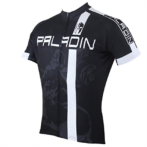 Galleon - Paladin Cycling Jersey For Men Short Sleeve Remy Martin Pattern  Black Bike Shirt Size XL 7b44694e3